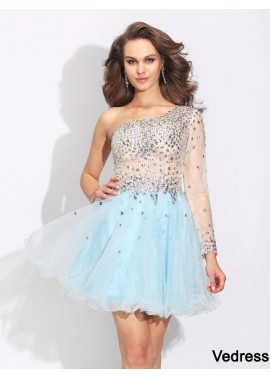 Vedress Sexy Short Homecoming Prom Evening Dress T801524710541