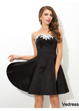Vedress Short Homecoming Prom Evening Dress T801524711073