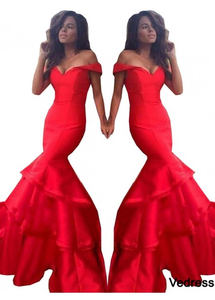 Vedress Mermaid Long Prom Evening Dress T801524704006