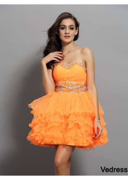 Vedress Sexy Short Homecoming Prom Evening Dress T801524711320