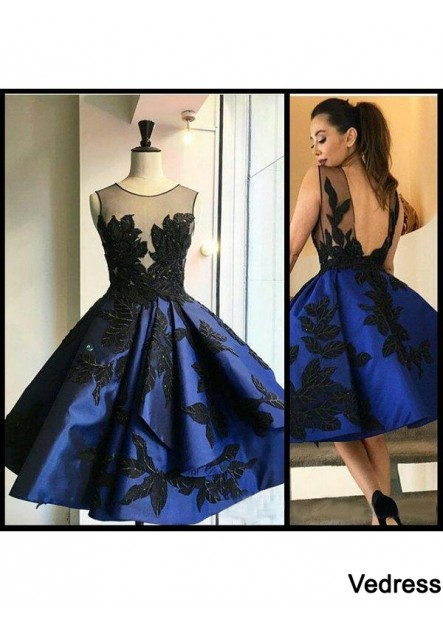 Vedress Short Homecoming Prom Evening Dress T801524710225