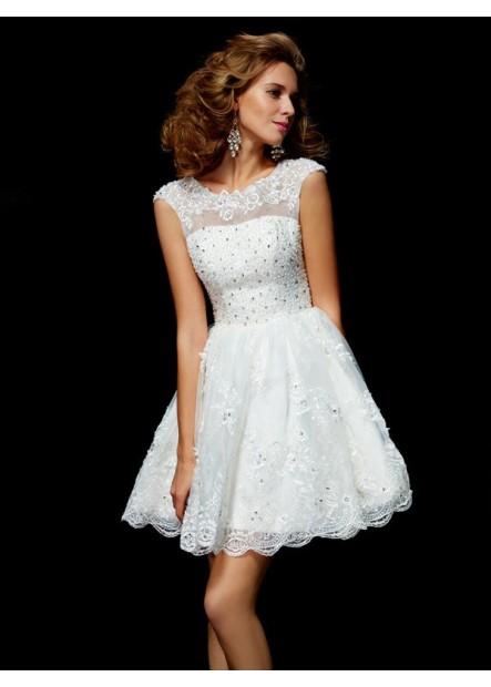 Vedress Short Wedding / Prom Evening Dress T801524710662