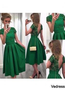 Vedress Short Homecoming Prom Evening Dress T801524710257