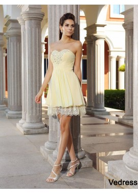 Vedress Sexy Short Homecoming Prom Evening Dress T801524711051