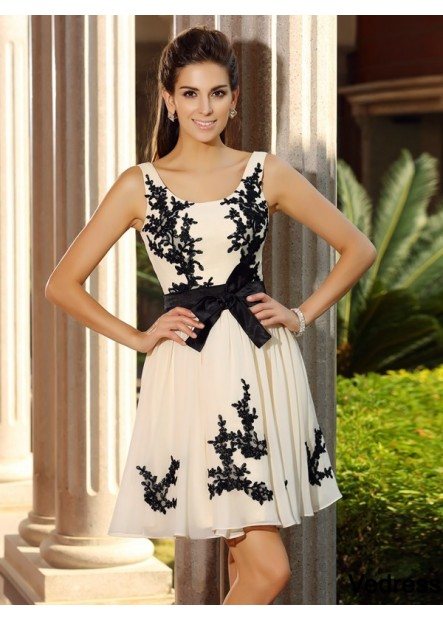 Vedress Sexy Short Homecoming Prom Evening Dress T801524710909