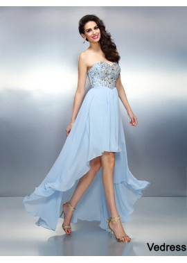 Vedress Sexy Short Homecoming Prom Evening Dress T801524710448