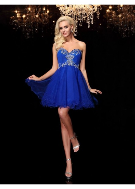 Vedress Sexy Short Homecoming Prom Evening Dress T801524710881