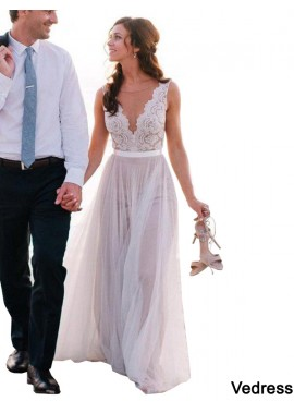 Vedress 2020 Beach Wedding Dresses T801524714639