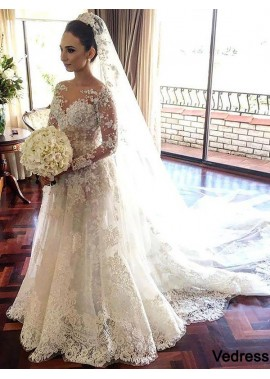 Vedress 2020 Lace Wedding Dress T801524714711