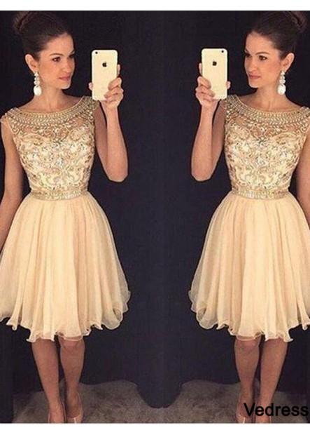 Vedress Short Homecoming Prom Evening Dress T801524710157