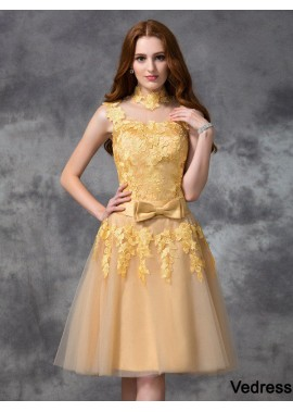 Vedress Sexy Short Homecoming Prom Evening Dress T801524710546