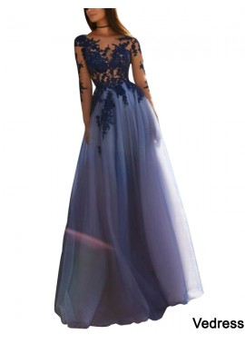 Vedress Sparkly Long Prom Evening Dress T801524703628
