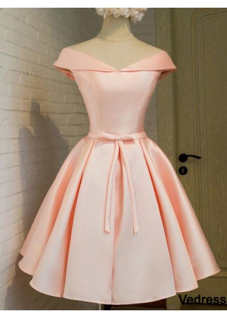 Vedress Short Homecoming Prom Evening Dress T801524710172