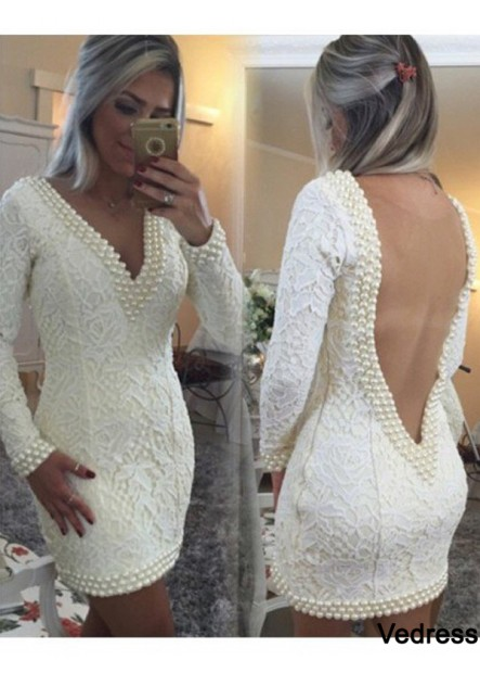 Vedress Short Homecoming Prom Evening Dress T801524710252