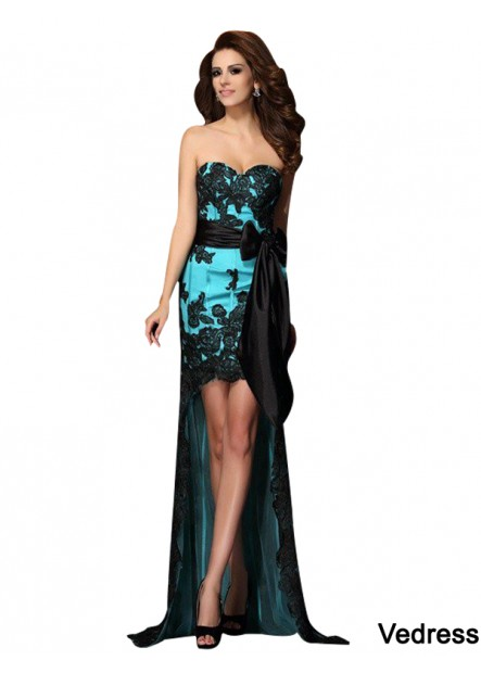 Vedress Sexy High Low Prom Evening Dress T801524705536