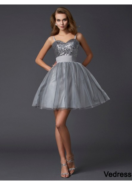 Vedress Short Homecoming Prom Evening Dress T801524710733