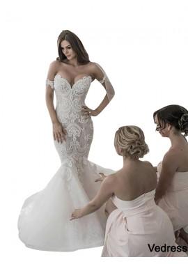 Vedress 2020 Fishtail Winter Wedding Dress Online