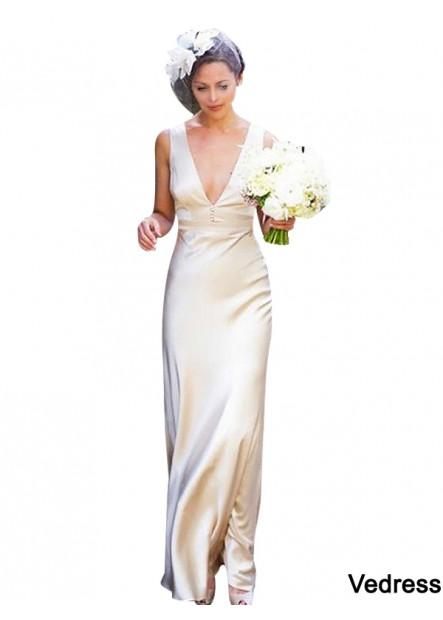 Vedress 2021 Beach Wedding Dresses T801524715330