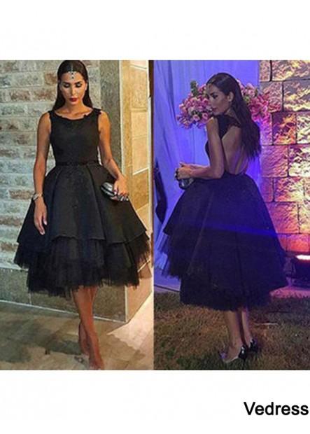 Vedress Short Homecoming Prom Evening Dress T801524710305