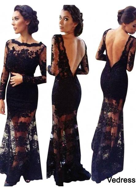 Vedress Mermaid Long Prom Evening Dress T801524704094