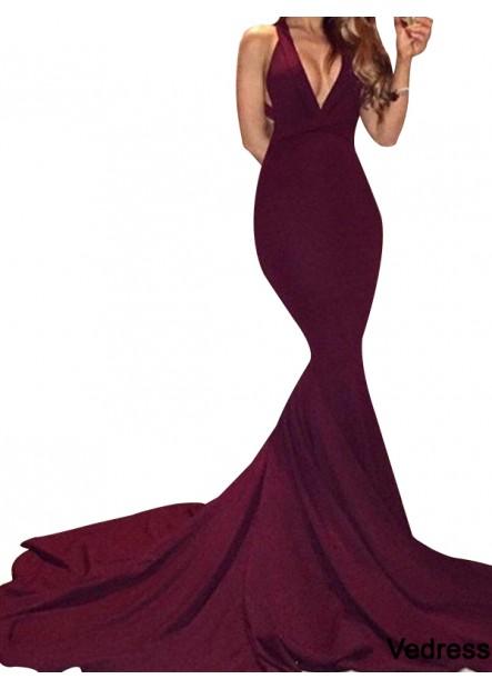 Vedress Sexy Junior Mermaid Long Prom Evening Dress T801524701972