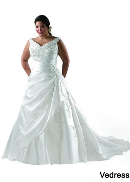 Vedress Plus Size Wedding Dress T801525328852