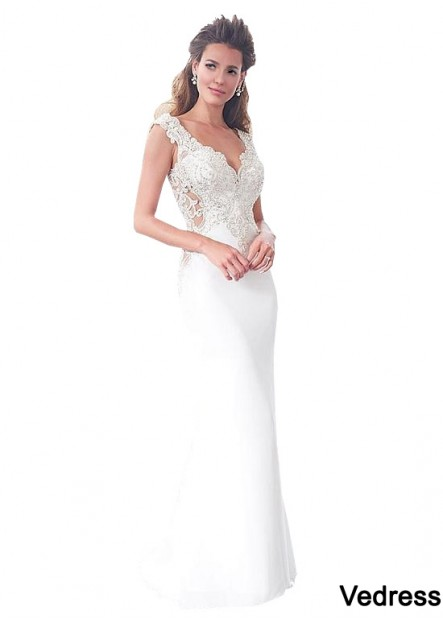 Summer Long Beach Wedding Dress
