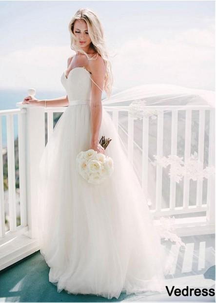 Vedress Modest Wedding Dress T801525313099