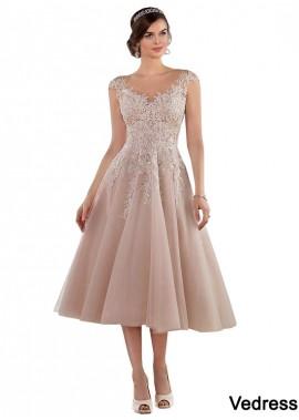 Vedress Short Tea Length Wedding Dress UK Sale