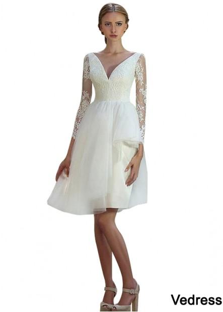 Vedress Short Wedding Dress T801525387135