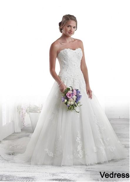 Vedress Plus Size Wedding Dress T801525331197