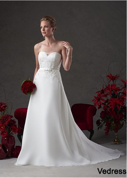 Vedress Plus Size Wedding Dress T801525331202