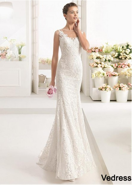 Vedress Lace Wedding Dress T801525384075