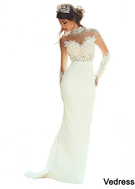 Vedress Best Beach Wedding Dress T801525313076