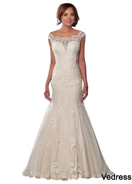 Vedress Plus Size Wedding Dress T801525317956