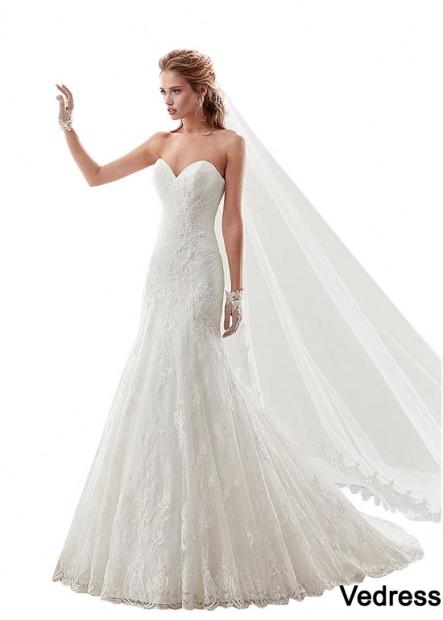 Vedress Lace Wedding Dress T801525384612