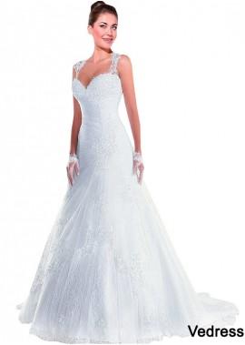 Vedress Lace Wedding Dress T801525386964