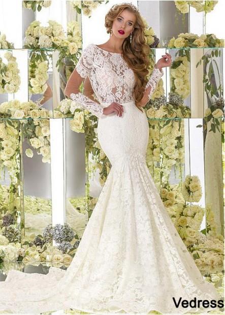 Vedress Lace Wedding Dress T801525385022