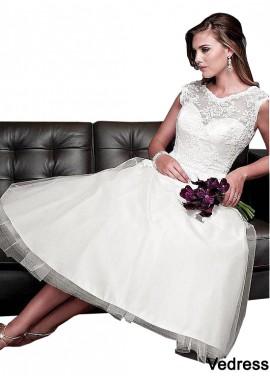 Vedress Short Wedding Dress T801525328646