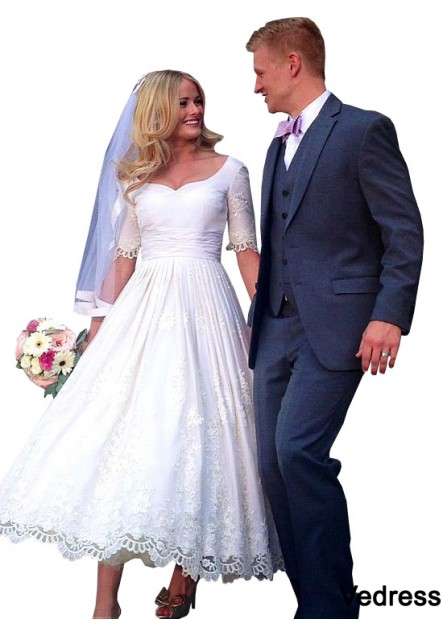 Vedress Beach Short Wedding Ball Gowns T801525318999