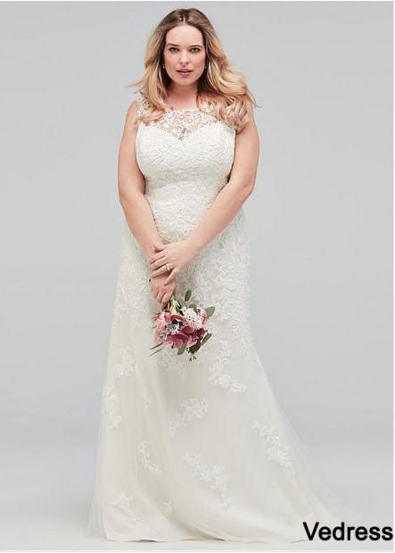 Vedress Plus Size Wedding Dress T801525328373