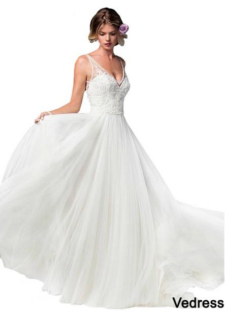 Vedress Beach Wedding Dresses T801525328381