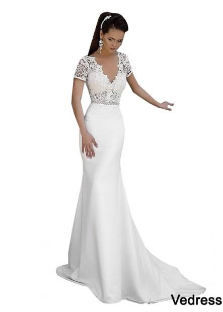 Vedress Fishtail Beach Wedding Dresses