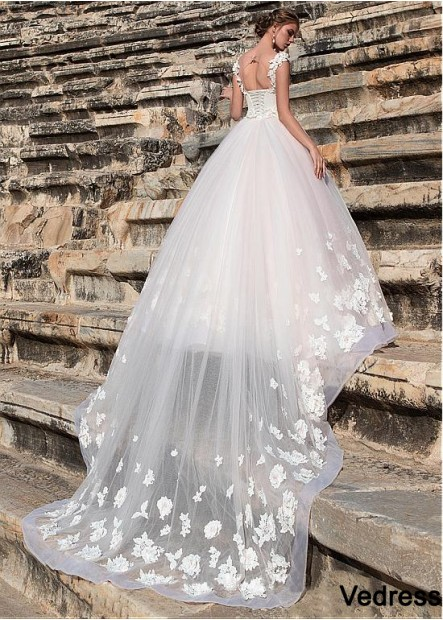 Vedress Beach Wedding Dresses T801525319096