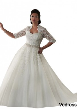 Vedress Plus Size Wedding Dress T801525325885