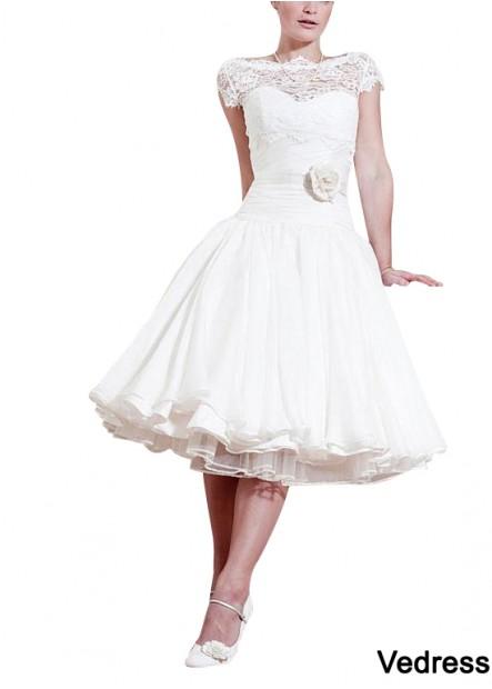 Vedress Beach Short Wedding Ball Gowns T801525319290