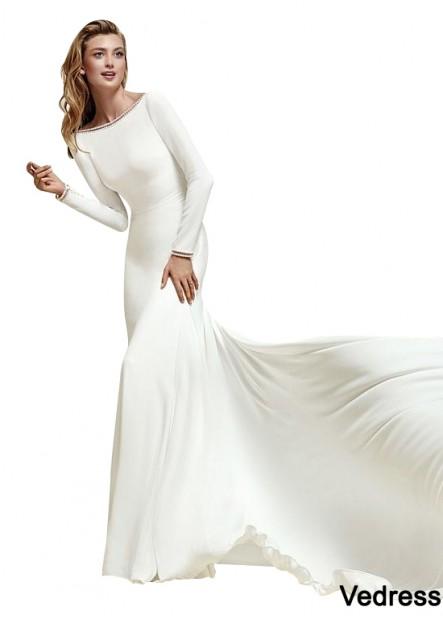 Vedress Beach Wedding Dresses T801525329482