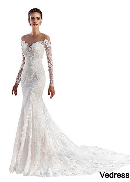 Vedress Beach Wedding Dresses T801525317905
