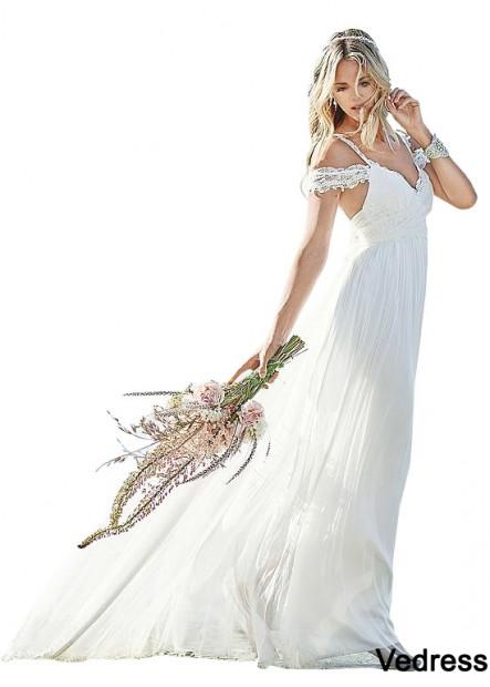 Vedress Beach Wedding Dresses T801525317619