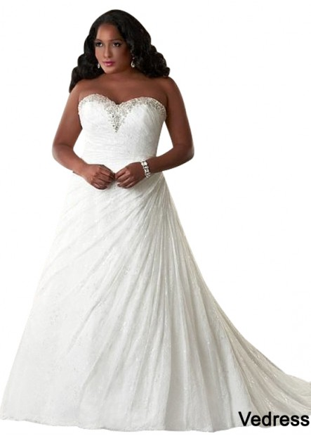 Vedress Plus Size Wedding Dress T801525325542